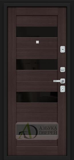Металлическая дверь Porta M 4.П23 Almon 28/Wenge Veralinga