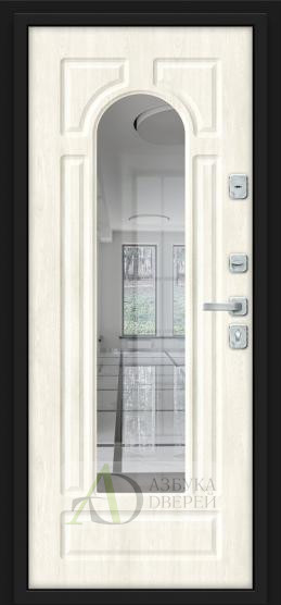 Металлическая дверь Porta M 55.56 Green Stark/Nordic Oak