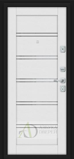 Металлическая дверь Porta M 8.Л28 White Stark/Virgin