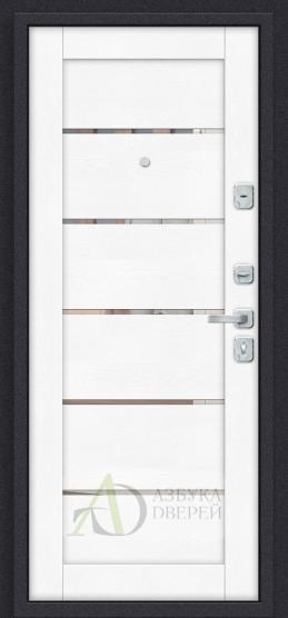 Металлическая дверь Porta M П50.Л22 Tobacco Greatwood/White Softwood
