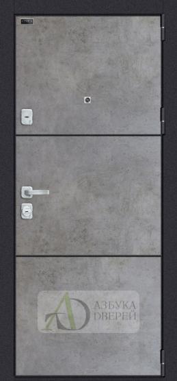 Металлическая дверь Porta M П50.П50 Dark Concrete/Angel