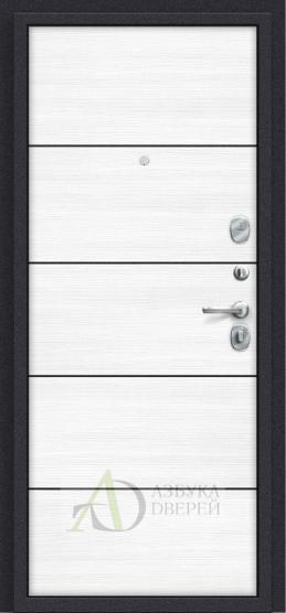 Металлическая дверь Porta S 4.П50 Almon 28/Snow Veralinga