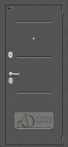 Металлическая дверь Porta S 104.П22 Bianco Veralinga/White Waltz