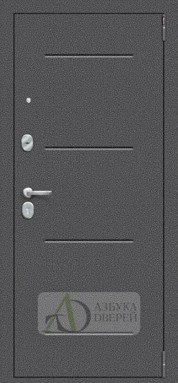 Металлическая дверь Porta S 104.П61 Bianco Veralinga