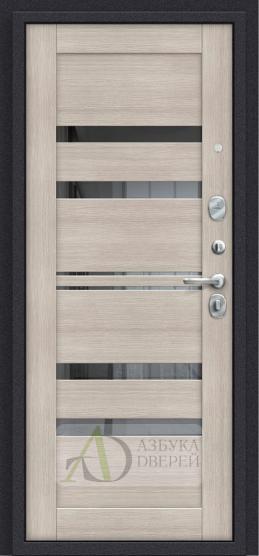 Металлическая дверь Porta S 4.П30 Brownie/Cappuccino Veralinga