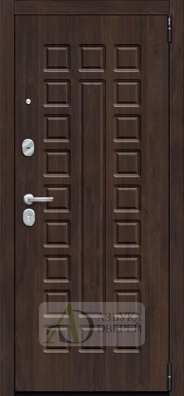 Металлическая дверь Porta S 51.П61 Almon 28/Wenge Veralinga