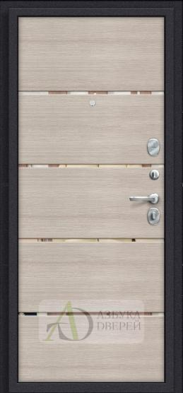 Металлическая дверь Porta S 4.П50 IMP-6 Almon 28/Cappuccino Veralinga