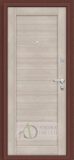 Металлическая дверь Репутация Антик Медь/Cappuccino Veralinga