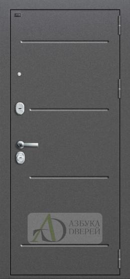 Входная стальная дверь ДМ GROFF P2-206 П-28 Темная Вишня