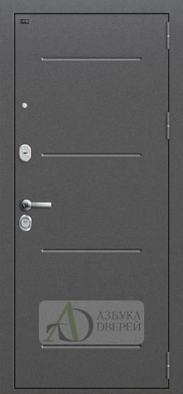 Входная дверь GROFF Р2-216 П-28 Темная Вишня