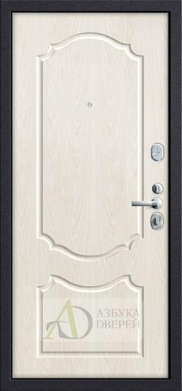 Входная дверь GROFF Р3-310 П-28 Темная Вишня/П-25 Беленый Дуб