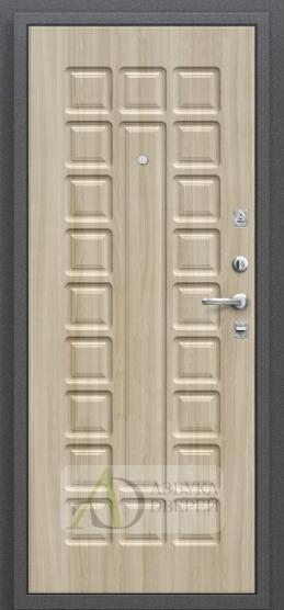 Стальная дверь Оптим Нова Шимо светлый