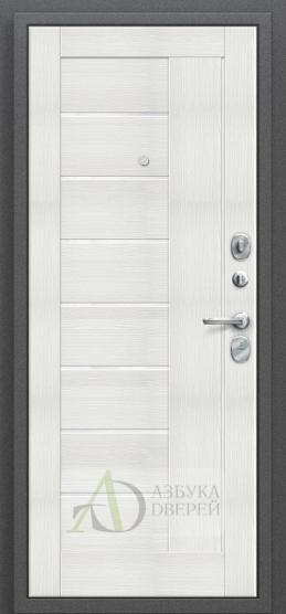 Стальная дверь Оптим Проф Bianco Veralinga/White Waltz