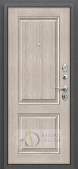 Стальная дверь Оптим Стиль Cappuccino Veralinga